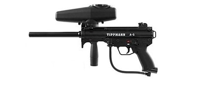 Best Paintball Guns - Tippmann A5