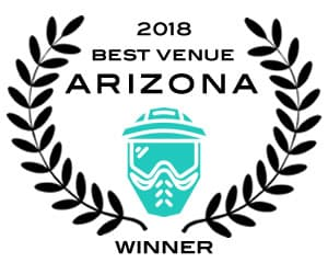 Best Paintball in Arizona 2018 Winner