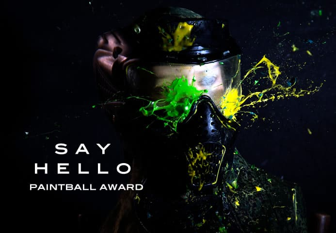 Contact Paintball Award